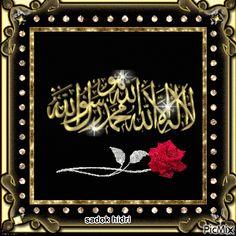 اللهم توفني على شهادة أن لا إله إلا الله، وأن محمدا رسول الله.