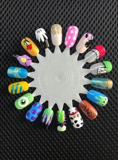 19 Luxury Nail Designs Zebra Print - Disney Nail Art Disney Pixar Disney Princesses Monster Inc Toy Story Little Mermaid Alice in Wonderland Nails Inc, Diy Nails, Cute Nails, Disney Nail Designs, Cute Nail Designs, Princess Nail Designs, Creative Nail Designs, Nails For Kids, Manicure E Pedicure