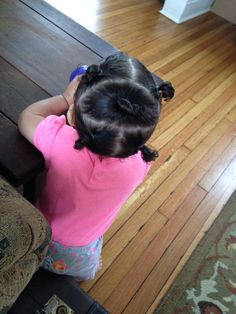 Toddler hairstyle for curly hair