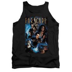 Farscape - Comic Cover Adult Tank Top T-Shirt