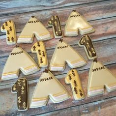 Teepee cookies  Sweet cakes by Jessica www.facebook.com/jessweetcakes