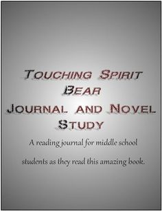 character analysis touching spirit bear Cole matthews is the main character of the novel ''touching spirit bear'' in this  lesson, we will explore how cole changes throughout the novel, growing from an .