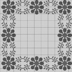 Beautiful floral/autumn cross stitch embroidered tablecloth in white linen from Sweden Cross Stitch Borders, Cross Stitching, Cross Stitch Embroidery, Cross Stitch Patterns, Quilt Patterns, Baby Knitting Patterns, Crochet Patterns, Christmas Table Cloth, Back Stitch