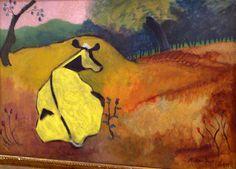 Milton Avery (1885 - 1965) - Bucolic Landscape, 1945