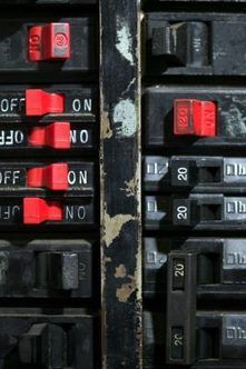 The circuit breakers in the electrical panel in your house are safety devices. Each one is designed to disconnect power when the current passing through the circuit exceeds its rating. This prevents .