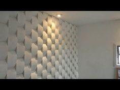 Como fazer molde e forma 3d tijolinho concavo - YouTube