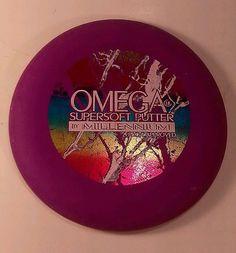 167g Omega 1.8 Supersoft Disc Golf Putter Millennium San Marino CA Purple OOP US #Innova