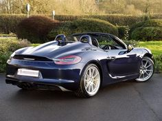 Used 2015 Porsche Boxster 981 [12-Current] SPYDER for sale in Rutland | Pistonheads