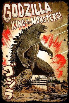 Image de Poster GODZILLA - King Of Monsters