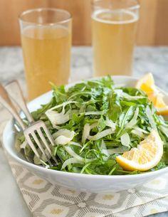 Recipe: Arugula & Fennel Salad with Lemon Vinaigrette — Quick Side Dish Recipes from The Kitchn | The Kitchn
