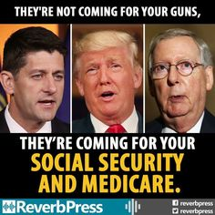 These Greedy Corrupt Repukkkes find it's easier to steal Taxpaying Americans Earned Benefits...then expect the Rich Moochers to pay their Taxes.