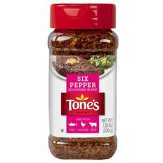 Tone's Six Pepper Blend, 7.25 Oz