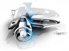 BMW Concept Interior, 2011, Daniel Hahn