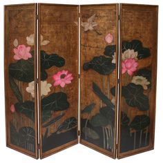 Colorful Japanese Screen.