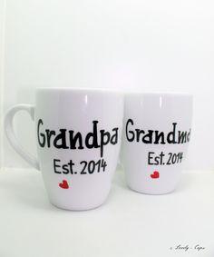 Schöne Tassen Oma Geschenk & Opa Geschenk Tassen von Lovely-Cups via dawanda.com