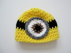 Crochet Baby Boy Girl Despicable Me Minion Hat