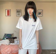 Asian Hair Bob, Medium Hair Styles, Curly Hair Styles, Soft Grunge Hair, Ulzzang Hair, Shot Hair Styles, Haircuts For Long Hair, Hair Reference, Girl Short Hair