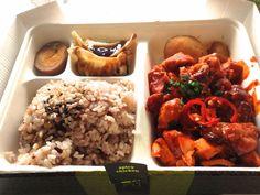 Spicy chicken Dosirak, Kimchee http://iwilleatlondon.blogspot.co.uk/2014/07/spicy-chicken-dosirak-kimchee.html