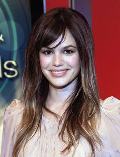 More Angles of Rachel Bilson Long Straight Cut with Bangs - StyleBistro