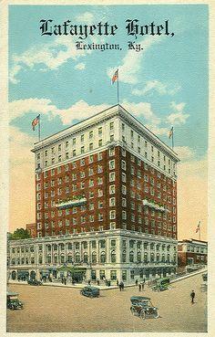 lafayette hotel lexington kentucky | Lafayette Hotel, Lexington KY