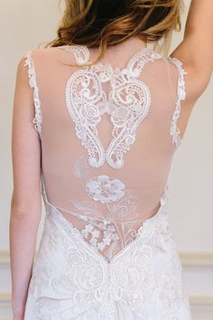 absolutely gorgeous lace back