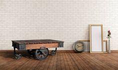 Rustikt Sofabord i et Elegant Industrielt Design - OBUZI