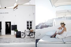 Find a beautiful place and get lost: a summer in Santorini - Vogue Australia