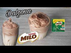 Cara Bikin Dalgona Milo Tanpa Mixer Tanpa Ovalet Hidangan Penutup Bubble Tea Coffee Cake