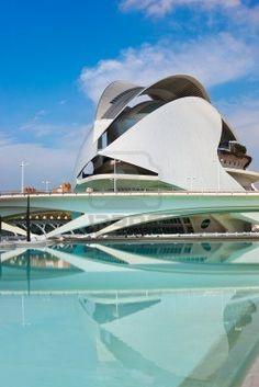 Architettura Moderna nella Città delle Arti e delle Scienze - Valencia