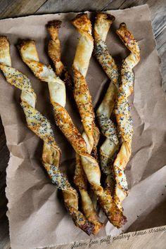 Gluten Free Puff Pastry Cheese Straws
