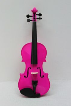 Neon Pink Violin