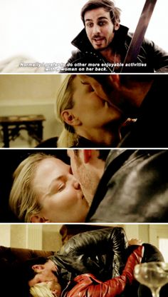 Captain Swan Season 6 parallel