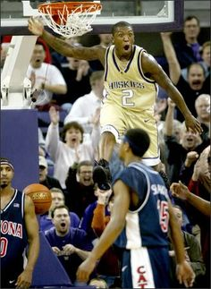 Best.  Dunk.  EVER.  In U-Dub history.  Courtesy of Nate Robinson.