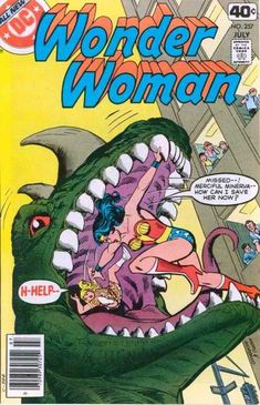 The Wonders Of Wonder Woman - The Wonder Woman And The Godzilla - The Great…