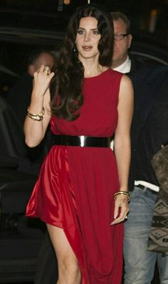 I got my red dress on tonight Dancing in the dark in the pale moonlight -Lana Del Rey #LDR