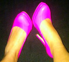 Hot Pink Heels...I NEED these!
