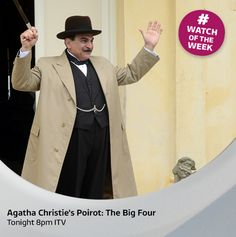 Here is the emotional moment as David Suchet waved goodbye to the cast and crew after finishing his final ever scene as Hercule Poirot.