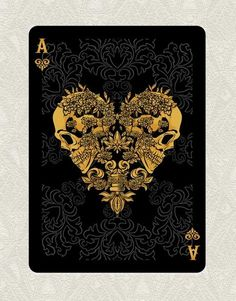 Vovk Aleksand is raising funds for ARCANUM playing cards (Canceled) on Kickstarter! ARCANUM is an original set of American Poker playing cards designed by TDS and printed in the U. Unique Playing Cards, Playing Cards Art, Custom Playing Cards, Custom Cards, Playing Card Design, Ace Of Spades Tattoo, Ace Tattoo, Playing Card Tattoos, Joker Playing Card