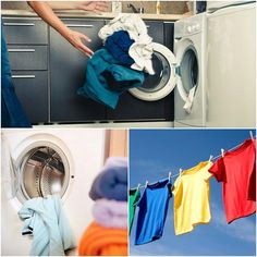 Learn how to properly wash and dry clothing to prevent color fading?