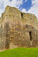 The keep at Etal Castle