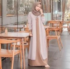 - Source by cardiganoutfitss dress with cardigan Casual Hijab Outfit, Cardigan Outfits, Dress With Cardigan, Cardigan Fashion, The Dress, Muslim Dress, Hijab Dress, Abaya Fashion, Fashion Outfits