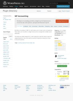 The website 'http://wordpress.org/plugins/wp-accounting/' courtesy of @Pinstamatic (http://pinstamatic.com)
