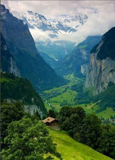 The Alps of Switzerland!