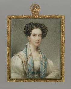ab. 1825 Henry Inman - Portrait of a Lady