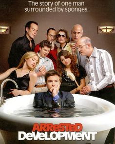 Arrested Development = The best show on television. Best Tv Shows, Best Shows Ever, Favorite Tv Shows, Favorite Things, Portia De Rossi, Will Arnett, George Michael, Movies Showing, Movies And Tv Shows
