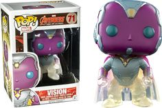 The Avengers - Avengers 2: Age of Ultron - Faded Vision Pop! Vinyl Figure by Funko