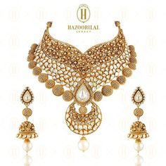 "438 Likes, 15 Comments - Harper's Bazaar Bride, India (@bazaarbridein) on Instagram: ""Bridal masterpieces that mesmerize, by @HazoorilalLegacy. #HazoorilalLegacy #Hazoorilal #Jewelry…"""