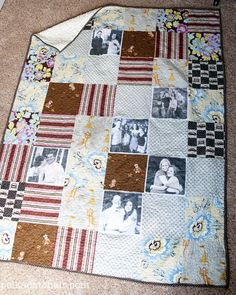 "FREE pattern: ""Photo Quilt"" (from Polka Dot Chair)"