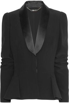 Nice twist on a smoking jacket, by Alexander McQueen