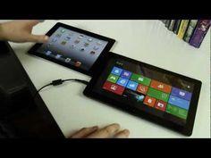 iPad 2 Vs Windows 8 Tablet: Fight!